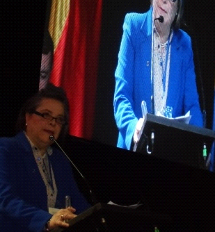 Clara López Obregón. Ministra de Trabajo.