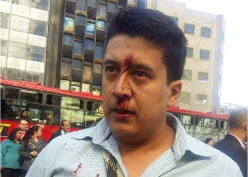 Funcionario judicial herido en la acción del Esmad