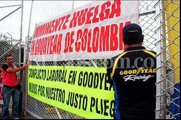 Terminó conflicto laboral en Goodyear Colombia.