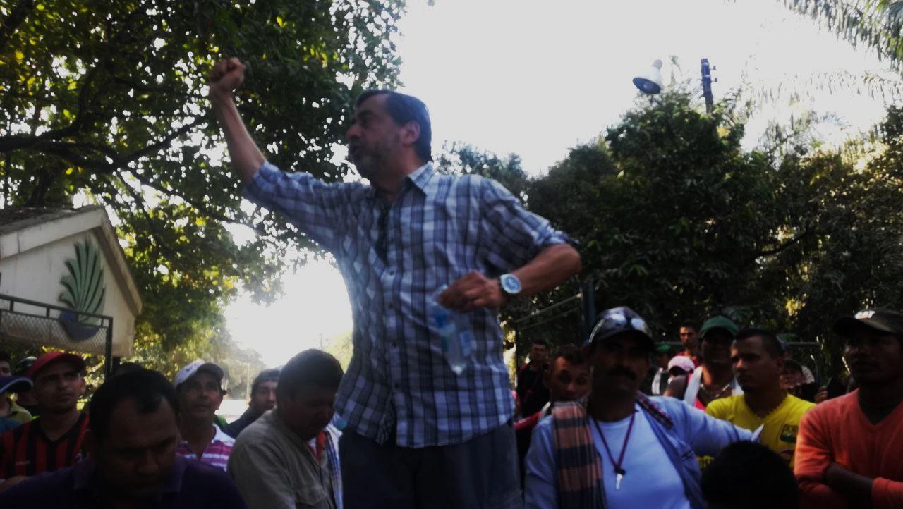 Carlos Guarnizo, Coordinador del Centro de Solidaridad