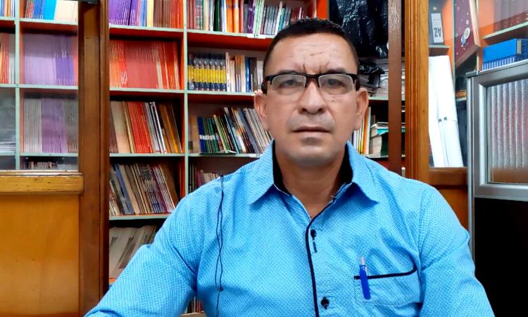 Rubén Samaca, uno de los lideres de los Sindicatos del sector palmicultor