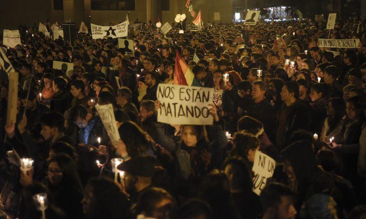 La paz en Colombia está en peligro real